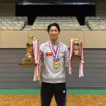 現役復帰2年目の上山容弘が全日本選手権7度目の優勝!シンクロとの2冠達成