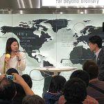 髙橋礼華が東京新橋でトークショー。FINALSへの意気込みなどを語りました