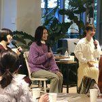 谷真海が雑誌『MORE』のトークイベントに出演。2020への期待などを話しました。