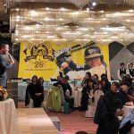 村田修一が栃木市でトークショー。栃木県との縁が続くよう「We♡SHU」コールで締め