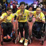 パラ卓球のタイオープンで岡紀彦は決勝T棄権。団体は銅メダル