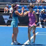 穂積絵莉が全豪オープン女子ダブルスで3年連続初戦突破。2回戦は惜敗