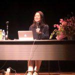 谷真海が国体記念イベントで講演。「笑顔は生きる力に」の想いを伝えました。