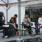 廣道純と尾川とも子が東京マラソン応援イベントで共演。マラソンの魅力を語りました。