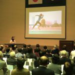 谷真海が取手市で講演。来年の東京パラリンピックへ向けてメッセージ