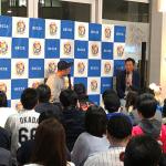岡田幸文が都内でトークショー。濃密な内容にDJケチャップさん「時間が足りない!」