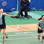 日本ユニシス女子は全日本実業団選手権準優勝。髙橋礼華は3試合に出場し2勝