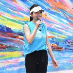 市橋有里が横浜マラソンのプレイベントで、夏を乗り切る練習や食事をアドバイス