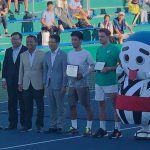 杉田祐一が四日市チャレンジャー決勝で、2時間超えの熱戦を制し初代チャンピオンに!