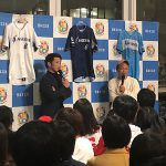 梵英心が東京芝浦で120名のファンを前にトークショー「皆さんに出会えたことに感謝」