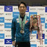 上山容弘が全日本選手権でシンクロ連覇、9度目の優勝!個人は僅差の準優勝