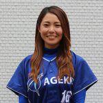ナイアガラカーブと美しさが武器。女子野球界を代表する右腕・磯崎由加里がメンバーに