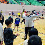 髙橋礼華が宮城でスポーツ体験会に参加。バド講習は自ら考案のレベル別メニューで指導